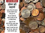 229 साल पहले डॉलर चांदी का सिक्का था, आज दुनिया में इसका सिक्का चलता है!|देश,National - Money Bhaskar