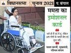ममता बनर्जी की चोट पर संबित पात्रा का तंज, बेचारा पैर... खुद बता रहा है कि वह कितने दर्द में है देश,National - Dainik Bhaskar