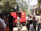 कचरे की चिंगारी से अगलगी, फायर ब्रिगेड की 2 गाड़ियां पहुंचीं, फैक्ट्री के अंदर का सामान खाक|बिहार,Bihar - Dainik Bhaskar