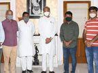 मुख्यमंत्री और चिकित्सा मंत्री से मुलाकात के बाद सुजानगढ़ प्रत्याशी ने नाम वापस लिया, सहाड़ा उम्मीदवार से खींचा समर्थन का हाथ राजस्थान,Rajasthan - Dainik Bhaskar
