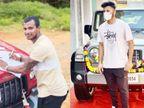 आनंद महिंद्रा ने नटराजन और शार्दूल को गिफ्ट में दी THAR-SUV कार; सिराज, सुंदर, गिल और सैनी को भी जल्द डिलीवरी की जाएगी क्रिकेट,Cricket - Dainik Bhaskar