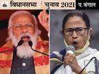 यहां की 9 सीटों पर राजवंशी समुदाय का दबदबा है, पिछले विधानसभा चुनाव में ये TMC के वोटर्स थे, पर लोकसभा चुनाव में BJP के पाले में शिफ्ट हो गए|पश्चिम बंगाल,West Bengal - Dainik Bhaskar