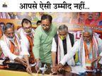 गाइडलाइन तोड़ते हुए सत्तारूढ़ पार्टियां आयोजित कर रही हैं बैठकें, सोशल डिस्टेंसिंग का भी पालन नहीं|बिहार,Bihar - Dainik Bhaskar