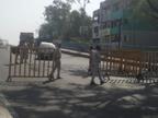 भोपाल में सड़कों पर पसरा सन्नाटा, बाजार- दुकानें रहे बंद, पुलिस ने शहर में 53 जगह चेक प्वाइंट बना कर रही जांच|भोपाल,Bhopal - Dainik Bhaskar
