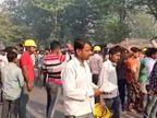 पॉवर कारपोरेशन की लैंको परियोजना में बॉयलर गिरा, 16 मजदूरों को रेस्क्यू कर बाहर निकाला गया वाराणसी,Varanasi - Dainik Bhaskar