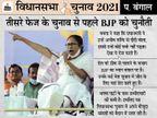 ममता बोलीं- अभी एक पैर से बंगाल जीतेंगे, बाद में दोनों से दिल्ली; यहां गुजरात वाले राज नहीं कर पाएंगे|देश,National - Dainik Bhaskar