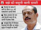वझे के वसूली कारोबार में पुलिस-प्रशासन के बड़े अफसर भी हिस्सेदार, इन्हें करोड़ों का पेमेंट हुआ; NIA को मिले सबूत|महाराष्ट्र,Maharashtra - Dainik Bhaskar