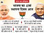 लोकसभा में 2 सीटों से हुई थी BJP की शुरुआत और आज 303 सीटों के साथ सत्ता में|देश,National - Dainik Bhaskar