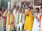 पहले भाजपा प्रत्याशी के खिलाफ पर्चा भरा, दबाव में वापस ले लिया; पूनिया से मिलने के बाद अब समर्थन में वोट मांगेंगे पितलिया|जयपुर,Jaipur - Dainik Bhaskar