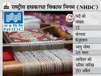 राष्ट्रीय हथकरघा विकास निगम ने यंग प्रोफेशनल समेत अन्य पदों पर मांगे आवेदन, 20 अप्रैल तक ऑनलाइन करें आवेदन|करिअर,Career - Dainik Bhaskar