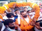 उदयपुर पहुंचने पर साधा केंद्र सरकार पर निशाना, कहा- सरकारी मशीनरी का दुरुपयोग कर रही BJP को जनता देगी जवाब|उदयपुर,Udaipur - Dainik Bhaskar