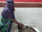 भिंड के जिला अस्पताल में बाइक खड़ी करने के विवाद में मां की आंखों के सामने गोली मारी, गंभीर हालत में ग्वालियर रेफर|भिंड,Bhind - Dainik Bhaskar