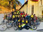चंडीगढ़ के साइक्लिस्ट्स ने डेढ़ दिन में किया 260 किमी का सफर तय; 11 साल का बच्चा भी रहा कैंपेन का हिस्सा|चंडीगढ़,Chandigarh - Dainik Bhaskar