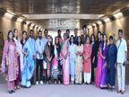 सेक्टर-17/16 की अंडरपास गैलरी में शुरू हुई ग्रुप एग्जिबीशन; 25 आर्टिस्ट के 50 आर्टवर्क में रिश्ते, शक्ति और प्यार के रंग|चंडीगढ़,Chandigarh - Dainik Bhaskar