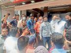 शराब की दुकान खोलने का विरोध, क्षेत्रवासियों में आक्रोश, सौंपा ज्ञापन|ब्यावर,Bayavar - Dainik Bhaskar