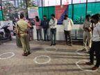 कोरोना का डर ऐसा की अब थानों के बाहर खड़े-खड़े हो रही है सुनवाई, शहर में 65 और जिले में 96 पुलिसकर्मी संक्रमित हो चुके हैं|इंदौर,Indore - Dainik Bhaskar