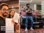 आयुष्मान खुराना और रकुल प्रीत सिंह ने शुरू किया 'डॉक्टर जी' का रीडिंग सेशन, कार्तिक आर्यन ने खरीदी4.5 करोड़ कीलेंबोर्गिनी उरूस कार बॉलीवुड,Bollywood - Dainik Bhaskar