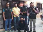 दो लाख का इनामी मनोज मांगरिया को क्राइम ब्रांच ने किया गिरफ्तार, हथियार भी बरामद|फरीदाबाद,Faridabad - Dainik Bhaskar
