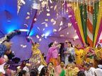 जयपुर की किन्नर ने मथुरा की किन्नर को बनाया बेटी, रस्म में जमकर धमाल; बोलीं- पैसों में हम सेठ से ज्यादा...बस अकेले हैं|अलवर,Alwar - Dainik Bhaskar