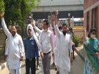 रोहतक में CM के कार्यक्रम के दौरान लाठीचार्ज का किया विरोध, कार्रवाई के लिए राज्यपाल को भेजा ज्ञापन पानीपत,Panipat - Dainik Bhaskar