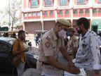 कोरोना हॉटस्पॉट रहे रामगंज में देर रात तक खुल रहे थे नॉनवेज ढाबे व जूस की दुकानें, तीन दुकानदारों के खिलाफ FIR|जयपुर,Jaipur - Dainik Bhaskar