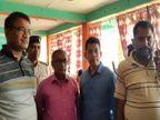 निगरानी की टीम ने गोगरी रेफरल अस्पताल प्रभारी को ₹50 हजार और हेड क्लर्क को ₹30 हजार घूस लेते रंगे हाथ पकड़ा|खगरिया,Khagaria - Dainik Bhaskar