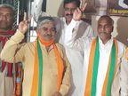 पितलिया बोले- नामांकन वापस लेने का ज्यादा प्रचार और भीड़ करता तो कांग्रेस वाले उठा ले जाते, इसलिए गुपचुप पीछे के रास्ते से जाकर फार्म उठाया|जयपुर,Jaipur - Dainik Bhaskar