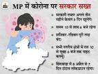 MP के सभी शहरों में अब हर संडे लॉकडाउन; सरकारी दफ्तर सप्ताह में 5 दिन ही खुलेंगे, छिंदवाड़ा में कल से 7 दिन तक टोटल लॉकडाउन|मध्य प्रदेश,Madhya Pradesh - Dainik Bhaskar