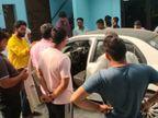 शामली में SOG ने भाजपा नेता पर 4 फायर किए, 1 गोली परिजन के हाथ में लगी, 3 कार में धंसी; CCTV फुटेज वायरल|मेरठ,Meerut - Dainik Bhaskar