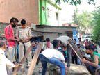 तीन दिनों से लापता था युवक, कचरा फेंकने गई एक महिला ने देखा शव; हत्या की आशंका|झारखंड,Jharkhand - Dainik Bhaskar