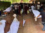 सूरत में कोरोना से हुई मौतों के बाद चंद घंटों में पहुंची 40 लाशें, अंतिम संस्कार के लिए 3 से 4 घंटे तक इंतजार करते रहे परिजन|गुजरात,Gujarat - Dainik Bhaskar