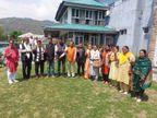 राकेश पठानिया बोले- महापौर व उपमहापौर के लिए भाजपा के पास बहुमत, 3 निर्दलीय प्रत्याशियों ने भरी हामी|हिमाचल,Himachal - Dainik Bhaskar