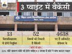 इंटरव्यू में अभी और लगेगा समय, सरकार और यूनिवर्सिटी को 3 हफ्ते में करना है काउंटर फाइल|बिहार,Bihar - Dainik Bhaskar