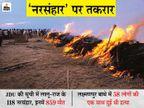लालू शासन में एक साथ 3 मर्डर भी नरसंहार क्यों, अभी 5 में भी क्यों नहीं- तर्क जानिए|बिहार,Bihar - Dainik Bhaskar