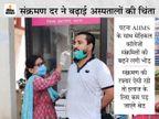 24 घंटे में 553 को अस्पताल से मिली छुट्टी तो 1527 हो गए पॉजिटिव, फुल हो रहे बेड|बिहार,Bihar - Dainik Bhaskar