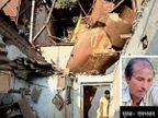 क्रेन का पट्टा टूटने से कच्चे घर पर गिरा बॉयलर, घर में सो रहे मजदूर की मौके पर ही मौत|गुजरात,Gujarat - Dainik Bhaskar