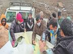 -20 डिग्री में 3 दिनों से दारचा में फंसे हैं 200 से अधिक मजदूर, प्रशासन ने पहुंचाई मदद कुल्लू,Kullu - Dainik Bhaskar