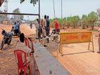 जिले की सीमाएं नाम के लिए लॉक, हाईवे पर बेधड़क वाहनों की आवाजाही, दो पहिया वाहनों से ही पूछताछ और चालानी कार्रवाई भिलाई,Bhilai - Dainik Bhaskar