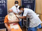 पंजाब और पुड्डुचेरी की नर्सों ने लगाई दूसरी डोज; मोदी की अपील- अगर एलिजिबल हैं तो टीका जरूर लगवाएं|देश,National - Dainik Bhaskar