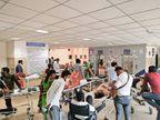 कोविड हॉस्पिटल में एक दिन में 62 मौतें लेकिन कोरोना के खाते में सिर्फ 12|गुजरात,Gujarat - Dainik Bhaskar