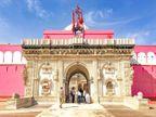 कोरोना की बंदिशें; अंबेमाता, जीण माता, देशनोक करणी माता, भद्रकाली मंदिर में बिना श्रद्धालुओं के हुई घट स्थापना, भक्तों के लिए मंदिरों के पट रहे बंद|राजस्थान,Rajasthan - Dainik Bhaskar