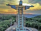 ब्राजील दुनिया का पहला देश, जहां सात अजूबों में शामिल क्राइस्ट रिडीमर की दूसरी प्रतिमा बन रही विदेश,International - Dainik Bhaskar