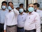 PMCH के प्रिंसिपल हुए संक्रमित, 24 घंटे पहले प्रधान सचिव समेत कई अधिकारियों के साथ दिखे थे|बिहार,Bihar - Dainik Bhaskar