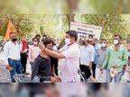 कोरोना से बचाव के लिए वैक्सीनेशन ने पकड़ी गति सेन मंडल के शिविर में 270 लाेगाें का टीकाकरण|बीकानेर,Bikaner - Dainik Bhaskar