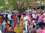 बड़कागांव में ना मास्क और ना ही सोशल डिस्टेंसिंग का ख्याल, कोविड-19 के नियमों की उड़ी धज्जियां; प्रशासन मौन|झारखंड,Jharkhand - Dainik Bhaskar