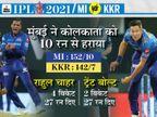 कोलकाता को पिछले 13 मैच में 12वीं बार हराया, राणा लगातार 2 फिफ्टी के साथ सीजन के टॉप स्कोरर|IPL 2021,IPL 2021 - Dainik Bhaskar