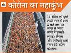 अखाड़ों में साधु-संतों और श्रद्धालुओं की संख्या कम की जा सकती है; सबके लिए समय तय होगा, ताकि भीड़ कंट्रोल की जा सके|देश,National - Dainik Bhaskar