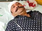 NRI थाने आए परिवार पर 25 से ज्यादा के गुट ने किया हमला; विदेश में रह रही विवाहिता का पिता, भाई और बूआ घायल|पंजाब,Punjab - Dainik Bhaskar