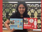 14 साल की सिमरन ने महिलाओं और बच्चों के लिए डिजाइन की ट्रैवल किट, अपने पेरेंट्स को ट्रैवलिंग से पहले चीजें जुटाते हुए देखकर मिली इस काम की प्रेरणा|लाइफस्टाइल,Lifestyle - Dainik Bhaskar