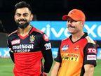 कोहली बोले-टीम पर गर्व है; वॉर्नर बोले- गेंदबाजों ने बेहतर गेंदबाजी की, लेकिन अखिरी ओवरों में हम अच्छी साझेदारी नहीं कर पाए|IPL 2021,IPL 2021 - Dainik Bhaskar